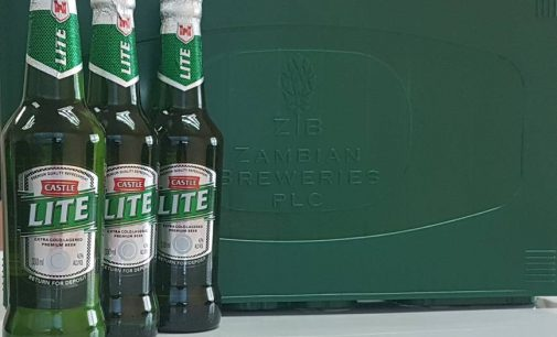 ZAMBIAN BREWERIES INTRODUCES 330ML CASTLE LITE RETURNABLE GLASS BOTTLE