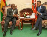 Zambian President Edgar Chagwa Lungu & Ghanaian President Nana Addo Dankwa Akufo-Addo Confer