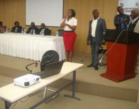 Emerine Kabanshi launches ZAPD Strategic Plan 2017 2021