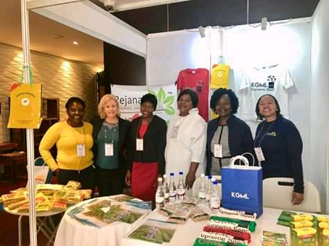 Kalomo Grain Marketing Ltd and Savanna Premium Chocolate at 1st AWAN _africa Continental Conference and #VALUE4HER B3B Fair in Nairobi, Kenya