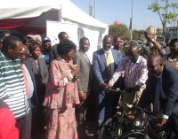 Preach peace, Inonge Mutukwa-Wina prods Luapula Expo and Investment Conference bikers