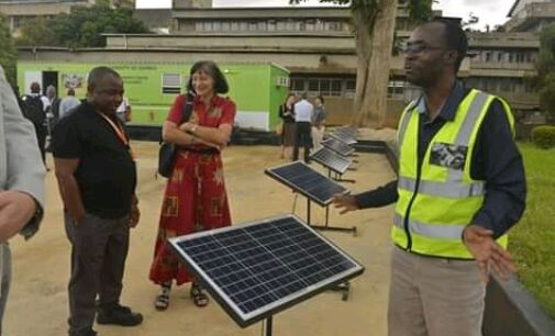National Science and Technology Council (NSTC) Joint Researchers' Symposium on Solar delegates visit solar Projects at the University of Zambia (UNZA) Great East Road Campus Wednesday 20th November 2019